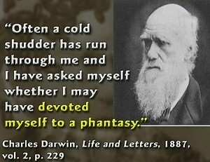 Charles Darwin and his chills.