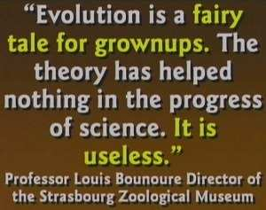 Evolution is a fairy tale for grown ups.